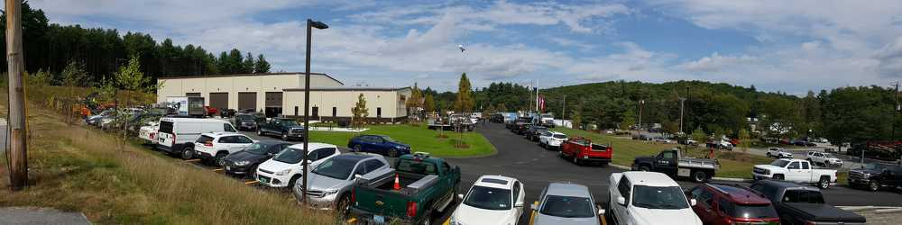 Schmidt Equipment's open house attracted many customers from the New England area.