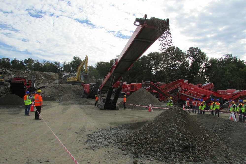 The Open Days event at Reliable Contracting was an excellent opportunity to see new and existing equipment in action.