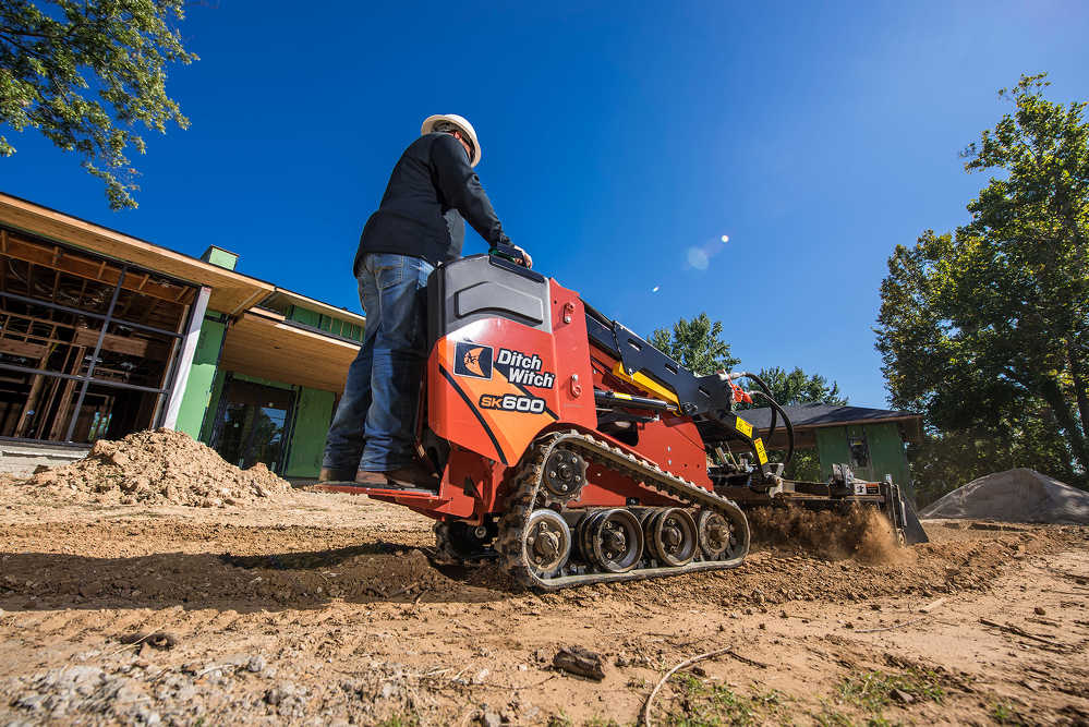 The industry-leading Ditch Witch SK600, SK800, SK1050 and SK1550 mini skid steers will be on display in indoor booth 1096 and outdoor booth 7634D.