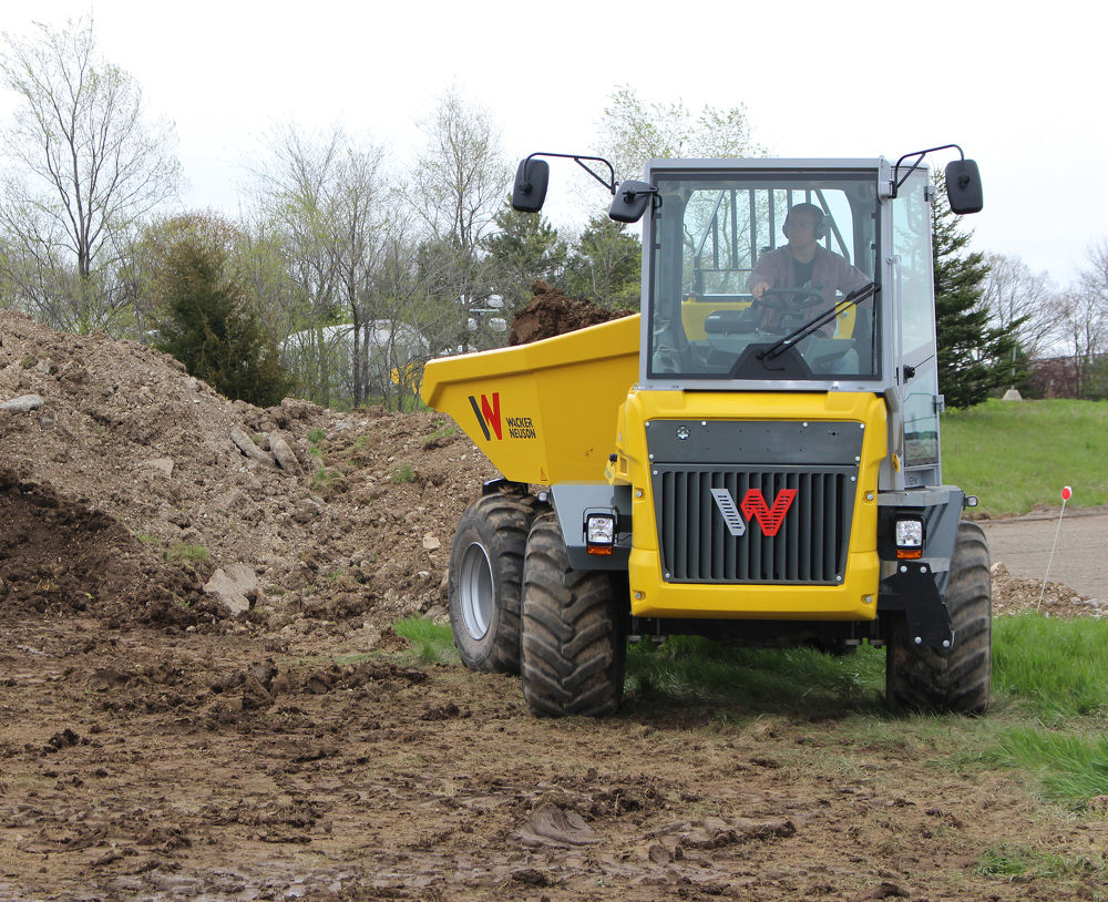 Wacker Neuson Offers Dual View Dumpers That Save Time and Money