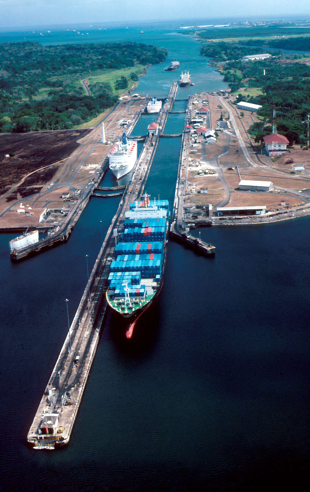 The Panama Canal has had an enormous impact on ship- ping between the Pacific and Atlantic oceans.