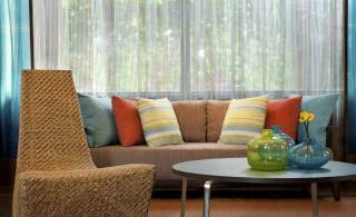 Get friendly with fabrics in your home