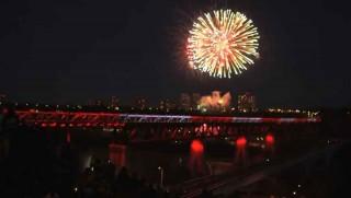 Edmonton's Light the Bridge!