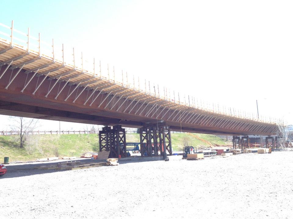 Ottawa LRT construction