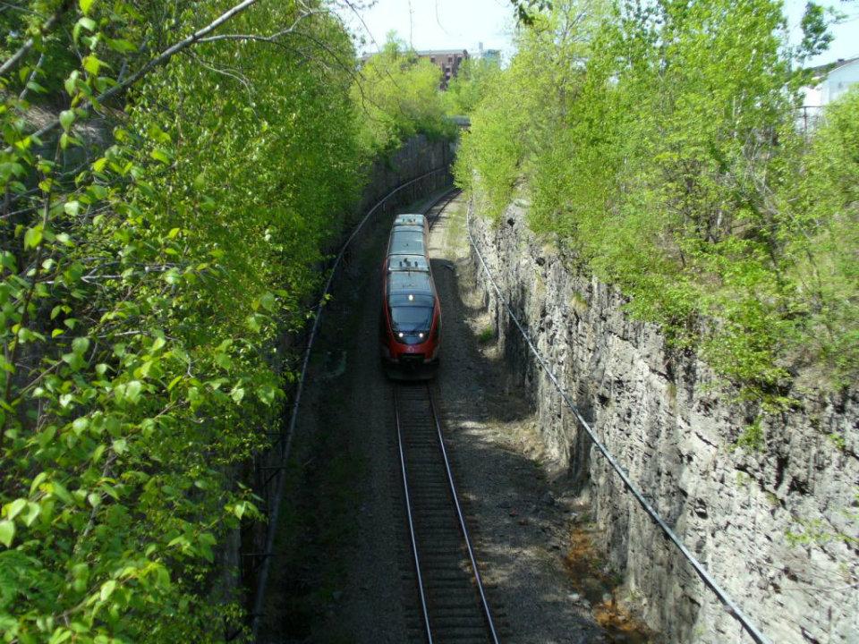 Ottawa LRT line