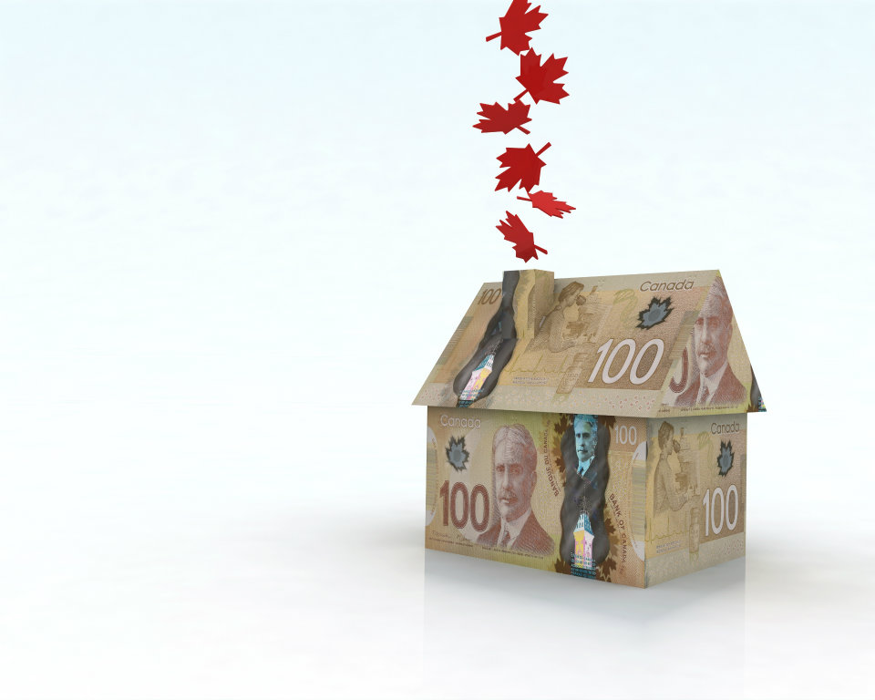 Canadian house prices