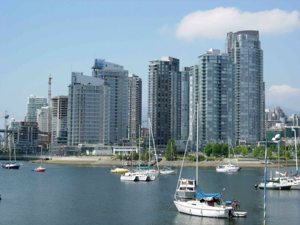 Condos in the Yaletown neighbourhood of Vancouver