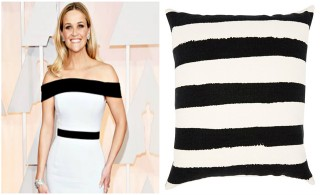 The hottest Oscar dresses inspire home accessories!