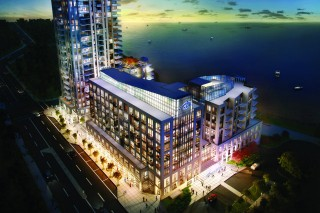 Waterfront condo on the New Horizon in Burlington
