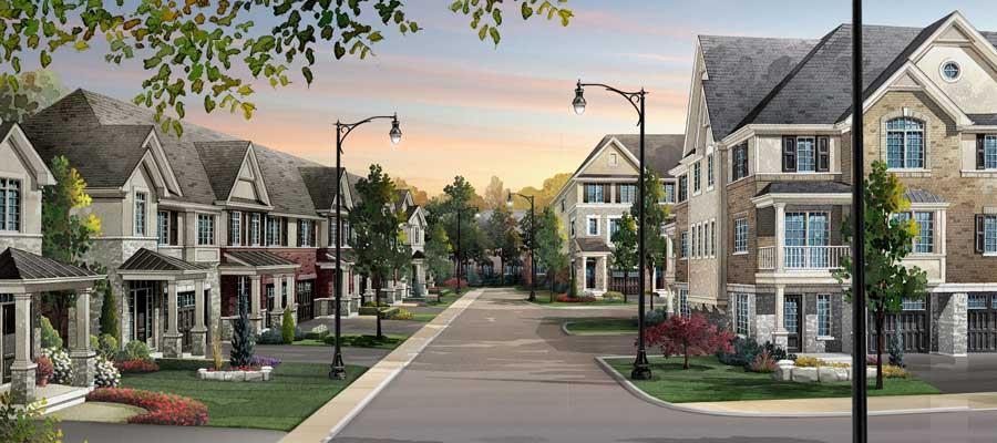 Oakvillage streetscape