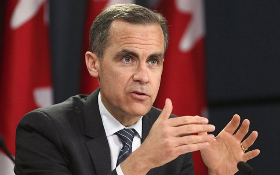 Former Bank of Canada Governor Mark Carney