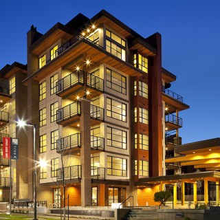 Sail by Adera, one of Metro Vancouver's first six-story wood-frame residences, was named Residential Community of the Year.