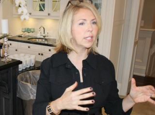 Jane Lockhart, principal designer of Jane Lockhart Interior Design, Toronto. Photo by Wayne Karl