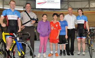 Local students tour Mattamy National Cycling Centre