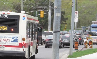 Toronto traffic an issue? What was your first clue?