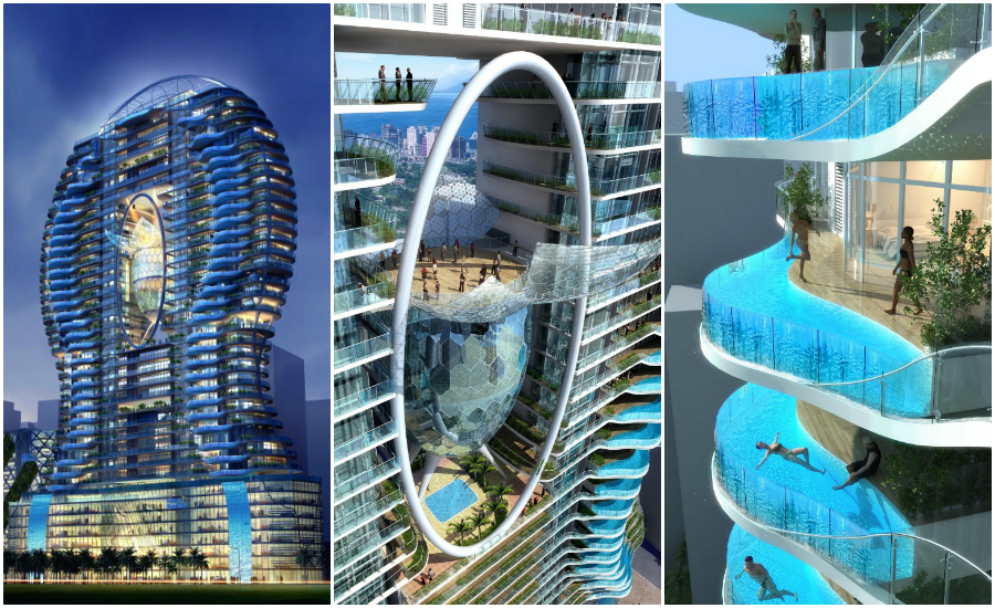 The world 39 s top 5 coolest condos huffpost canada - Swimming pool construction in india ...