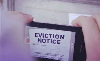 What happens in the event of an apartment eviction?