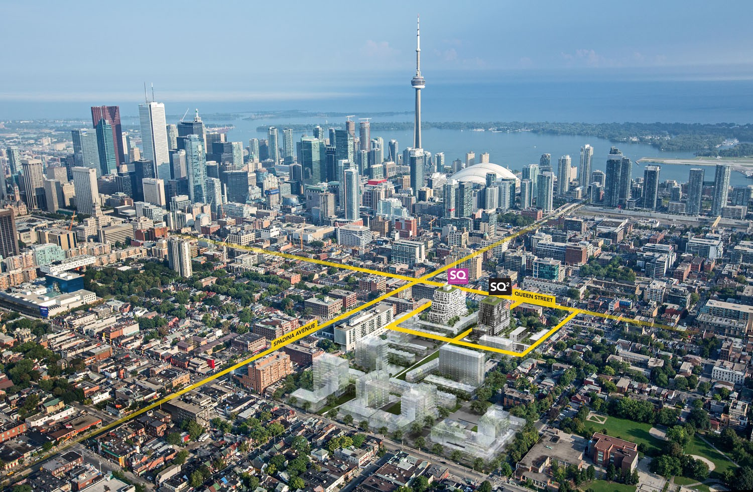Tridel, SQ2, Queen Street West, new condo construction