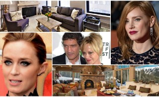 Celebrity homes for rent: Banderas, Blunt and Chastain