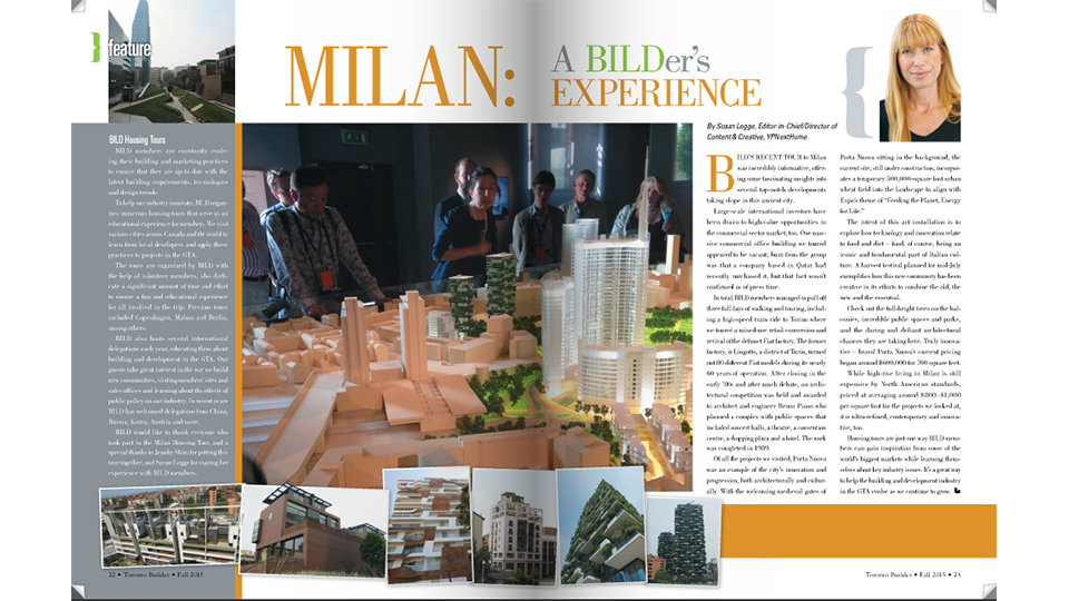 milan - bild housing study tour