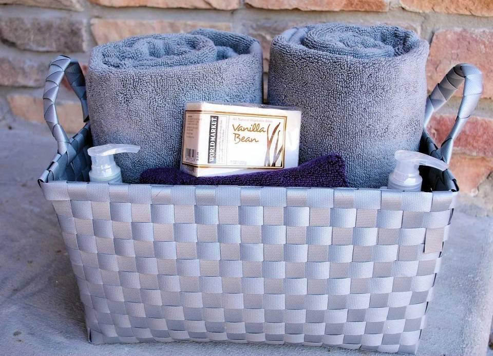Bathroom Gift Basket