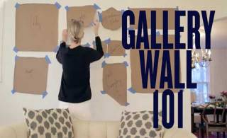 The trick to hanging a gallery wall (VIDEO)