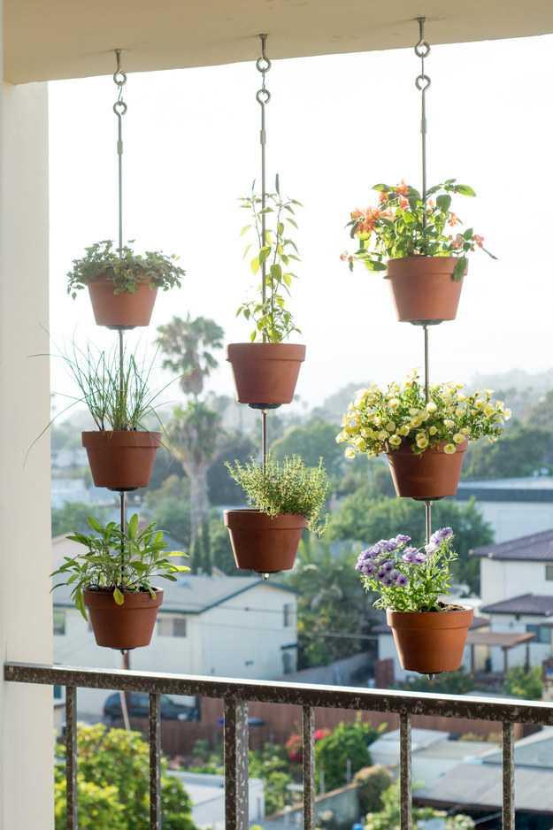 Hanging Pot Garden