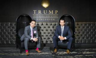The building is nice. Is Vancouver stuck with Trump?