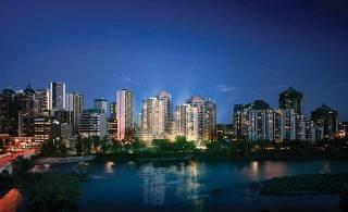 Calgary area: Avenue twin towers