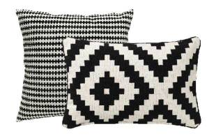 Lighten up with perfect pillows and throws