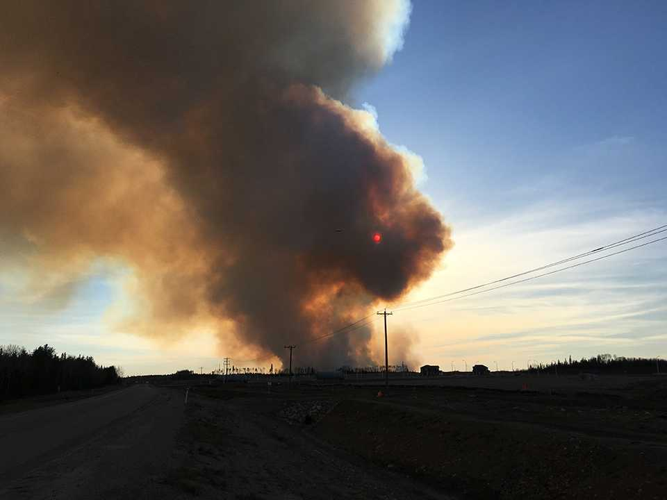 fire starting fort mcmurray