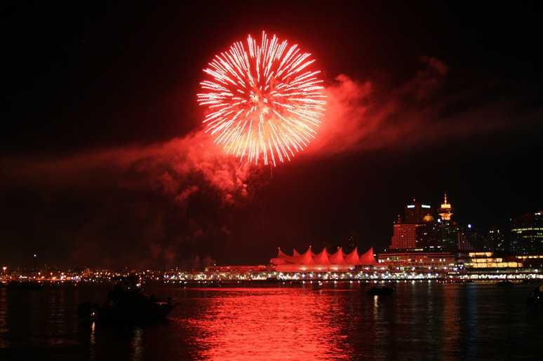 Canada day vancouver