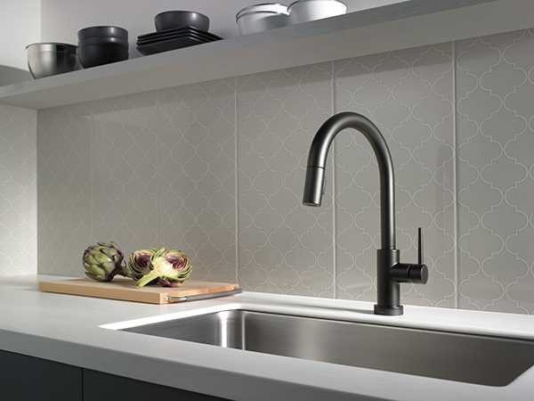 Trinsic faucet from Delta - kitchen refresh