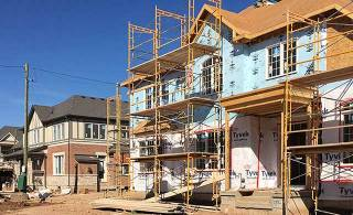 Housing starts up in most provinces, down in Ontario