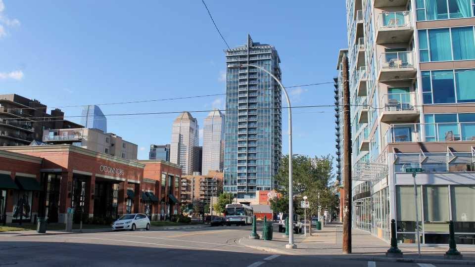 Calgary's Victoria Park Neighbourhood. Photo: Kait Kucy