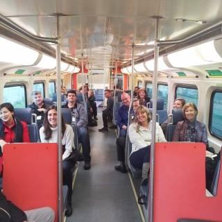 OHBA-tour-delegates-on-the-GO-Train-to-Burlington