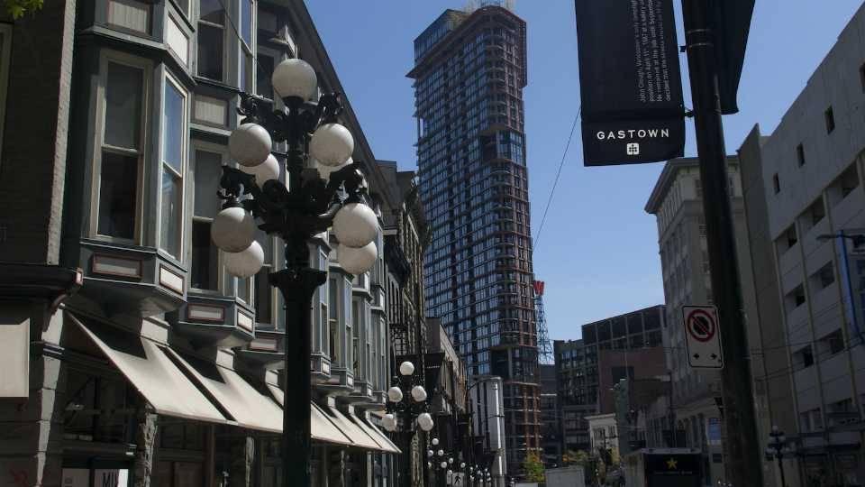 Vancouver's Gastown neighbourhood. Photo: Mike Archibald