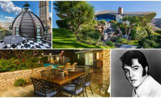 Celebrity homes: Elvis Presley's L.A home and more