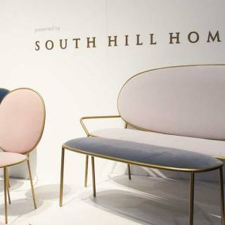 Designer Nika Zupanc's furniture collection for South Hill Home. Love the gentle lines and colour palette.