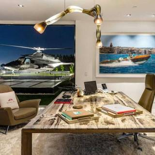 Penthouse office