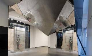 Menkes unveils Banksy's artwork at One York