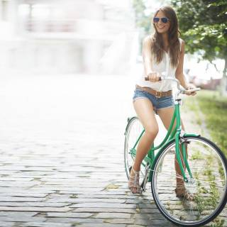 Life - Girl on bike