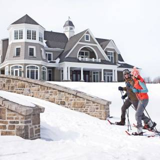 The Residences at Cobble Beach - snow shoe