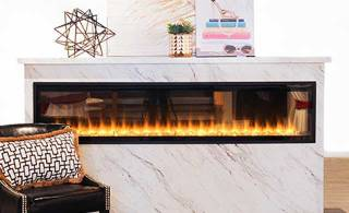 Heat up your home's style with a fireplace