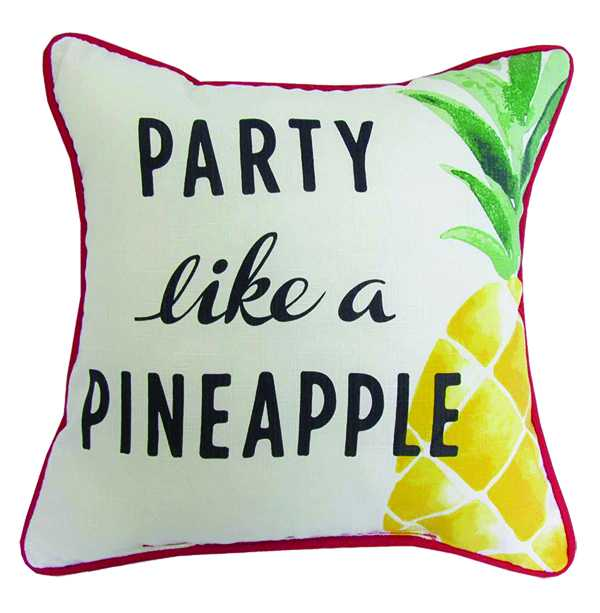 Party Like a Pineapple Outdoor Cushion $11.50 walmart.ca