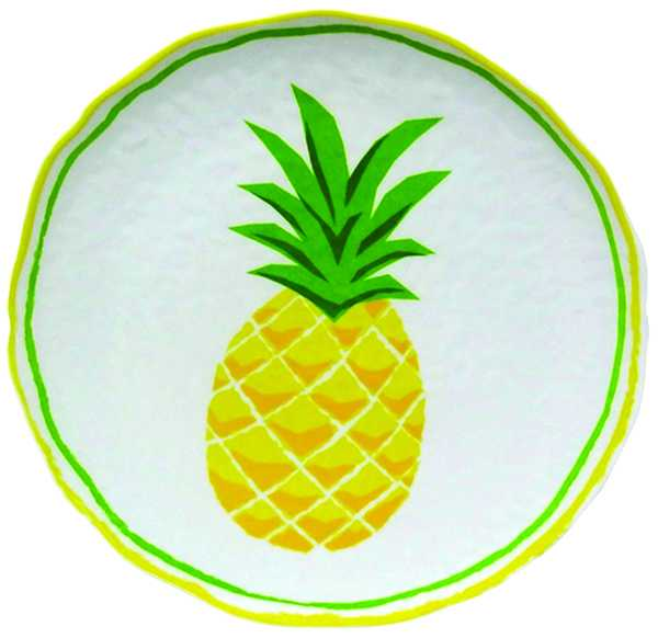 allen + roth Green Earthenware Pineapple Tabletop Accent $20 lowes.ca