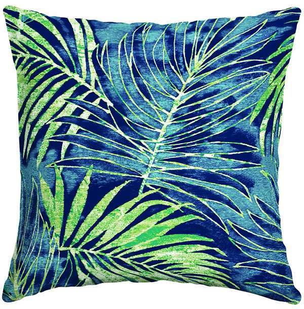Canvas Palm Toss Cushion $17 canadiantire.ca