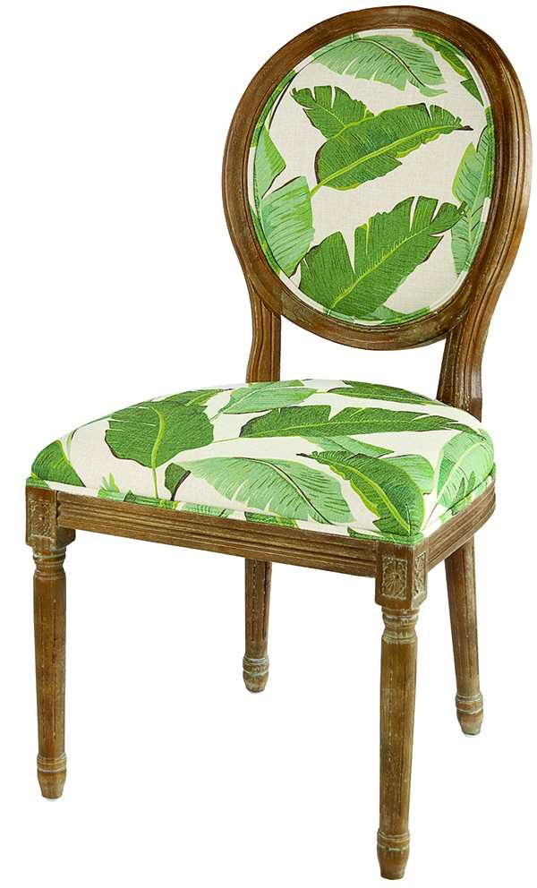 Banana Leaf Dining Chair $180 homesense.ca
