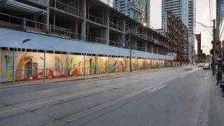 Greenland Group reveals 130-ft. mural on King Street