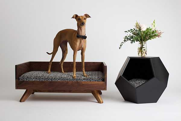 Custom pet furniture by Pup & Kit